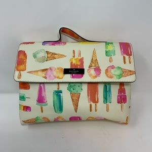 Kate Spade Shore Street Lita Ice Cream Makeup Case